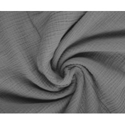 Maxi Musselin Decke Grey