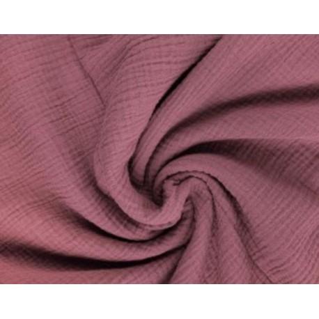 Maxi Musselin Decke Rosa