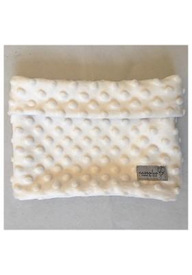 Loop-Schal aus türkisem Minky