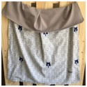 Light Decke Grey Bears mit grauem Jersey