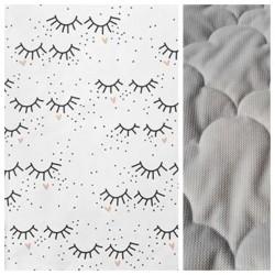 Velvet Kinder-Decke Sleepy Eyes