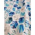 Soft Dreamer Bambus Decke - Blue Dimond