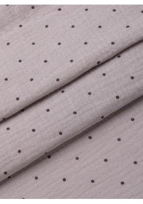 Maxi Soft Dreamer Musselin Decke Grey