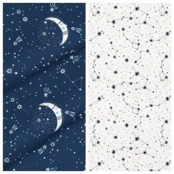 Kinder-Decke Blue Moon